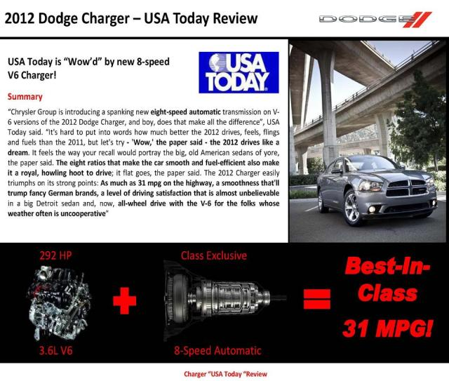 2012 Dodge Charger 8 Speed Transmission