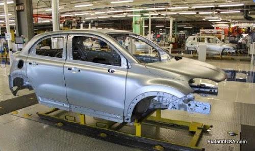 Fiat 500X Bare Body
